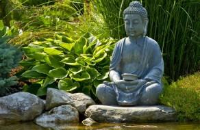 Asiatische Garten-Akzente